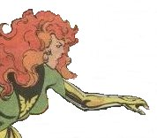 Jean Grey as the Phoenix